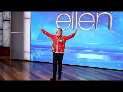 Tom Hanks and Ellen 'Act It Out' for an Early 12 Days Prize