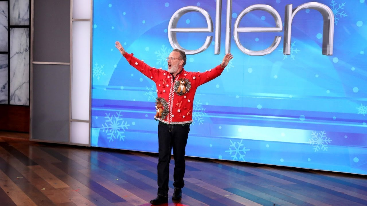 Tom Hanks And Ellen Act It Out For An Early 12 Days