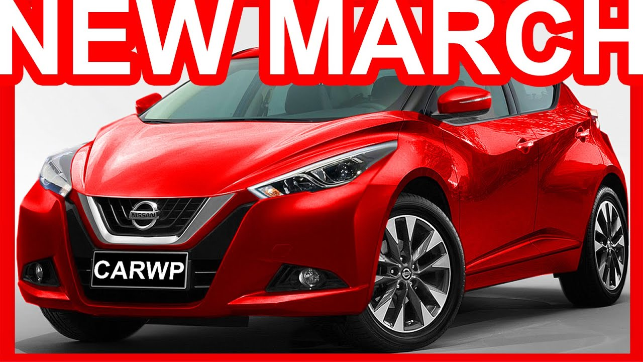 Photoshop Novo Nissan March 2019 Sway Concept Nissan