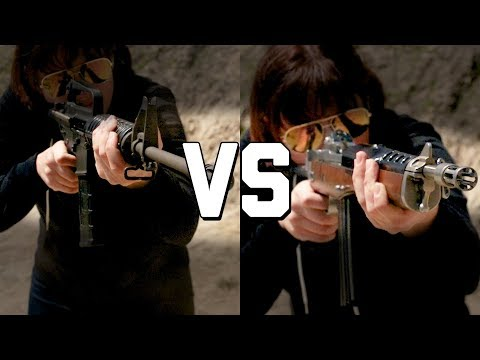 COLT SP1 vs RUGER AC556 (YES THE REAL ONE!) - The Proving Ground