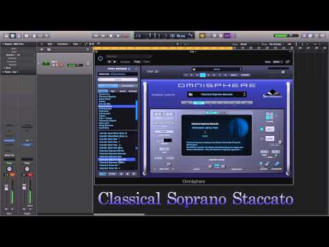 Spectrasonics Omnisphere II : Human Voices Classical patch