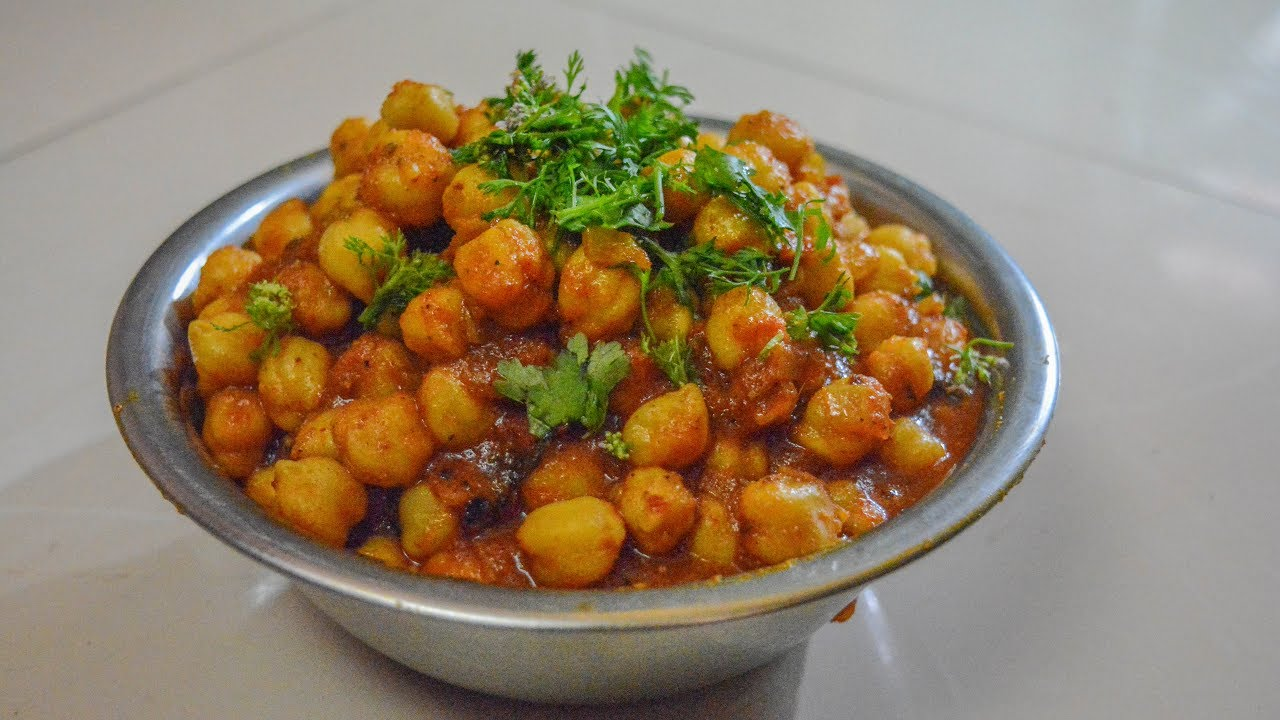 how to make chole bhature in marathi