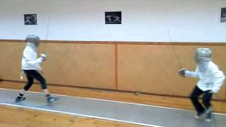 Боевая практика (фехтование, сабля, I год обучения)