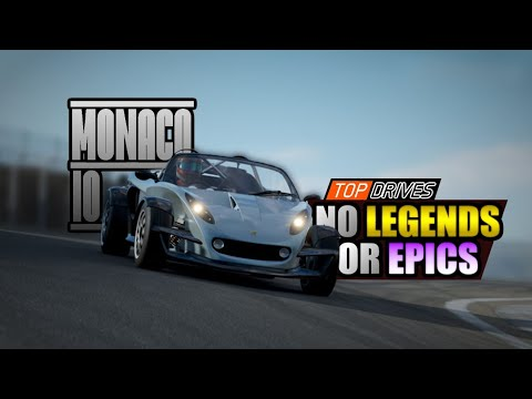 BEATING MONACO 10 WITHOUT ANY EPIC & LEGENDARY CARS - Top Drives