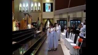 dendang kerahiman lagu penutup pujian kerahiman ilahi di grj santo yoseph palembang