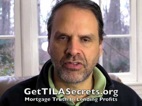 Mortgage Truth In Lending Act Secrets