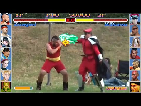 Super Street Fighter II - COSPLAY Edition