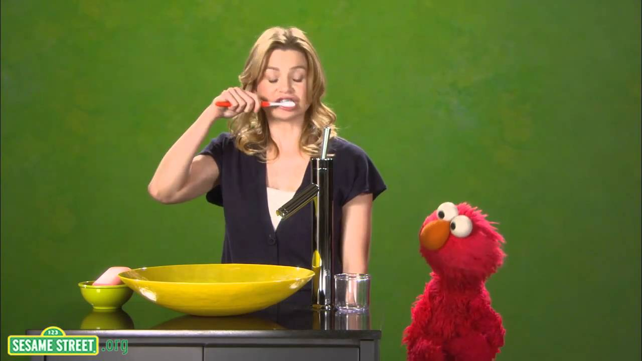 Sesame Street:Ellen Pompeo is Healthy