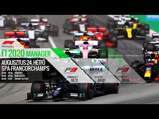 SIMCO - F1 2020 Manager Round 12: Spa-Francorchamps
