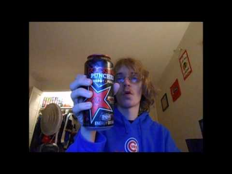 Rockstar Punched Energy + Punch  Fruit Punch Review