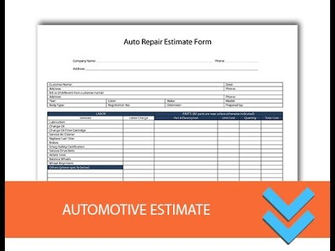 Auto Repair Estimates >> Free Automotive Repair Estimates Freedform Com