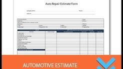 Free Automotive Repair Estimates - Freedform.com