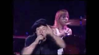 AC/DC - Cover You In Oil - Live