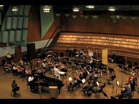 Malek Jandali with Russian Philharmonic Orchestra in Moscow