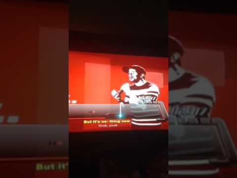 Me sing on a Sean on the voice on my PS3 part 1