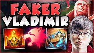 JUST HOW BROKEN IS FAKER\'S NEW VLAD BUILD? VLADIMIR SEASON 8 TOP GAMEPLAY! - League of Legends