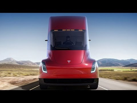 Download Youtube: Tesla reveals first electric truck and delivers roadster surprise