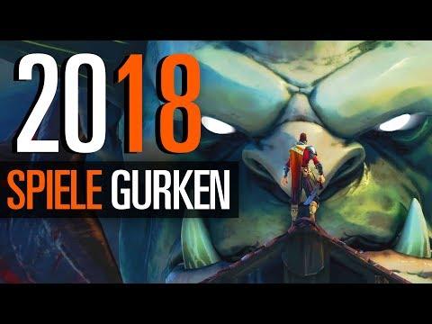 Spiele-Gurken 2018  