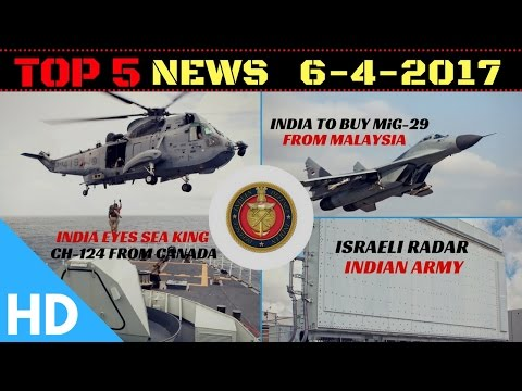 Top 5 Latest Headlines : Indian Defence Updates