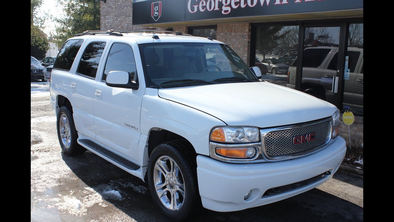 Used 2005 GMC Yukon Denali DVD for sale Georgetown Auto Sales KY     Used 2005 GMC Yukon Denali DVD for sale Georgetown Auto Sales KY Kentucky  SOLD   YouTube