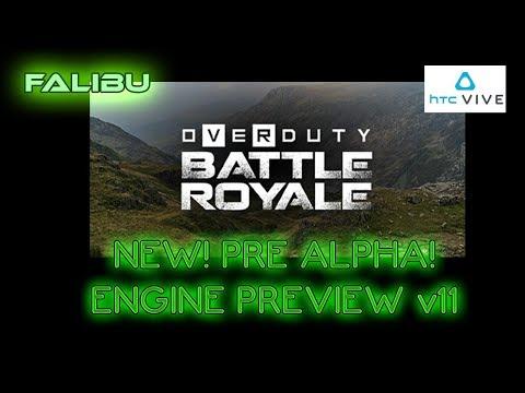 Overduty VR | NEW! PRE ALPHA ENGINE PREVIEW | Build v11 | Vive