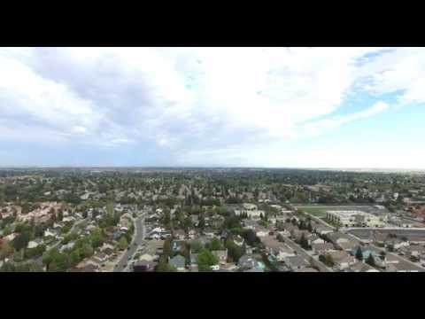 DJI Phantom 3 Pro Flying REALLY HIGH in Elk Grove California..