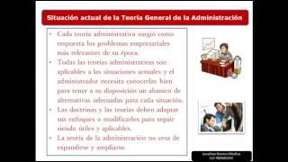 2.  La Administración y sus perspectivas