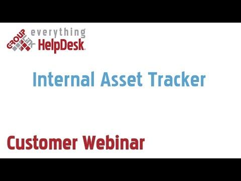 Internal Asset Tracker (9/18/2013)