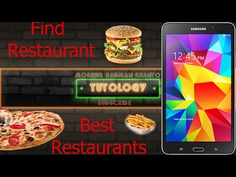Nearby Restaurants Finder   Android App