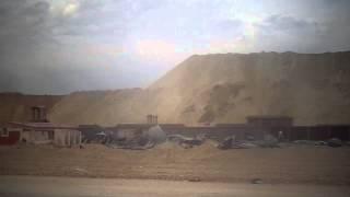 قناة السويس الجديدة مصر: أعلى تلال الحفر بقناة السويس الجديدة بمنطقة نمرة6
