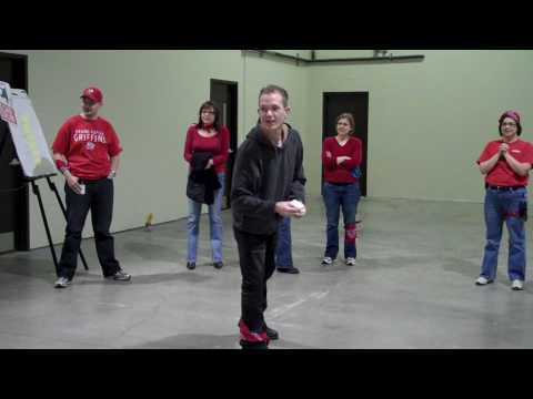 Employee Appreciation Day Red Team ID Curling Baudville