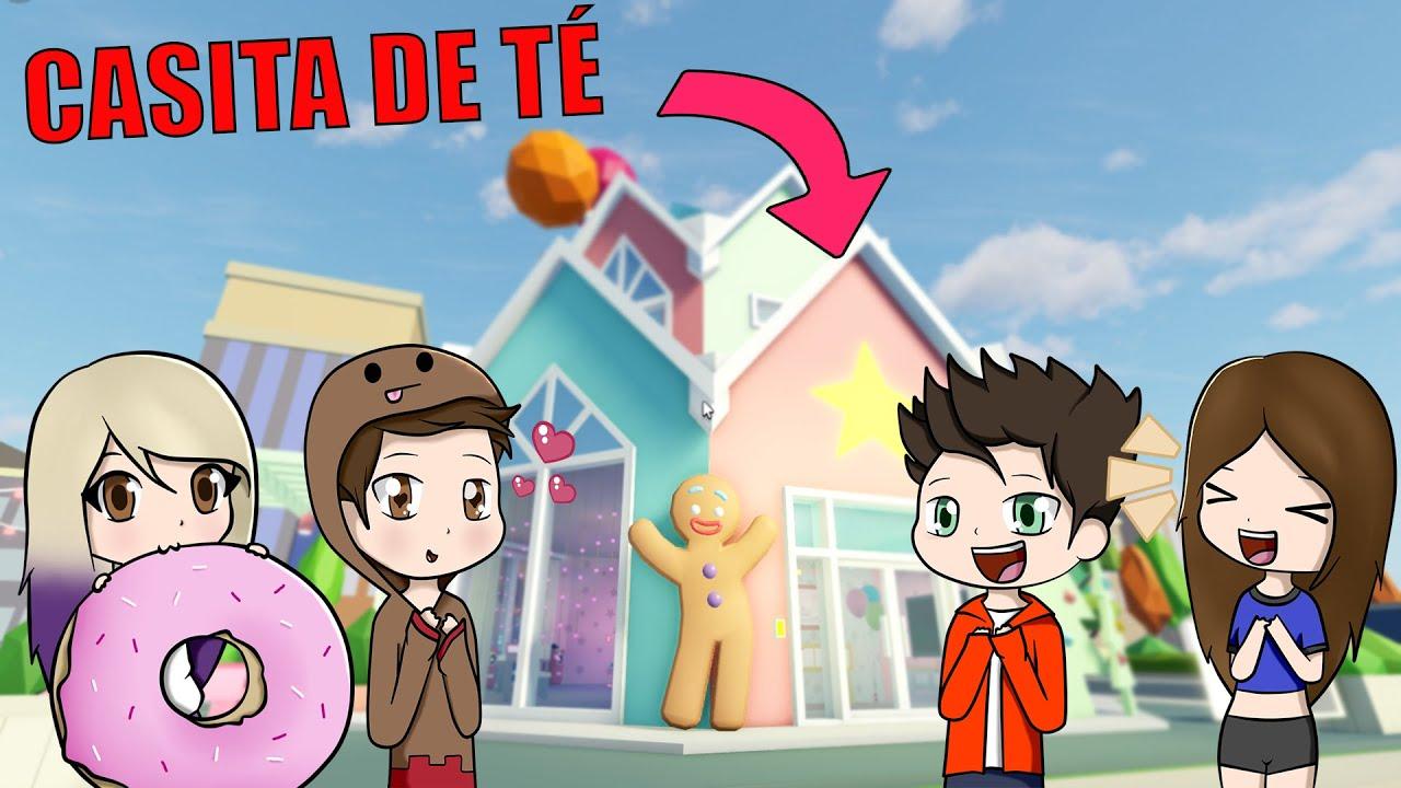 EL TEAM ANORMAL SE MUDA A LA NUEVA CASITA DE TÉ EN ROBLOX * Nueva Actualización* | #TeamAnormal