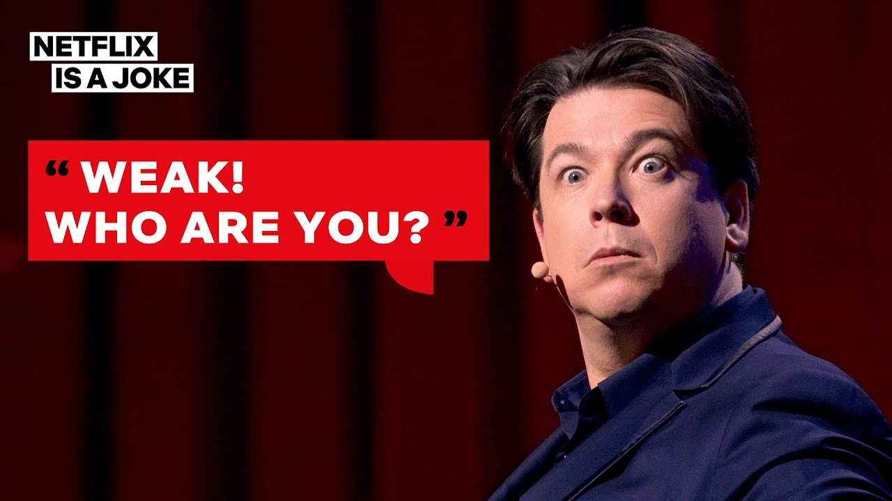 Michael McIntyre Nearly Lost His Mind Trying to Remember His Password | Netflix Is A Joke