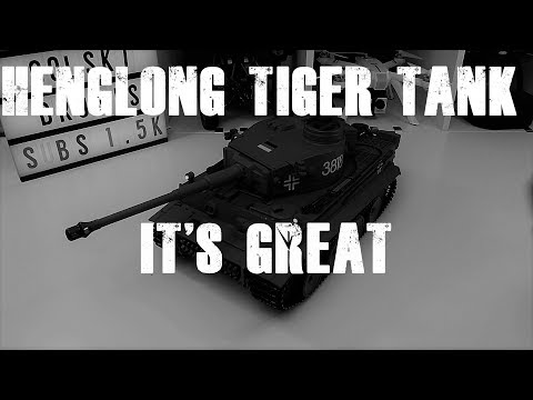 Heng Long RC Tiger Tank 1:16th Scale