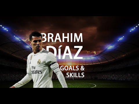 Brahim Díaz - Goals And Skills In REAL MADRID
