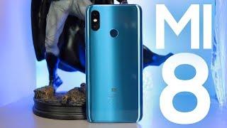 ELE É IMPRESSIONANTE! Xiaomi Mi 8 Azul - UNBOXING COM TESTE DE CÂMERA