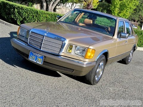 1983 mercedes benz 380sel for sale youtube for Mercedes benz watch for sale