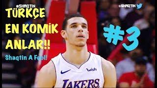 NBA En Komik Anlar #3 - Aralık Ayı ! - Lebron, Zo, Lillard...