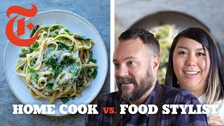 Home Cook vs. Food Stylist: Pasta Primavera | NYT Cooking
