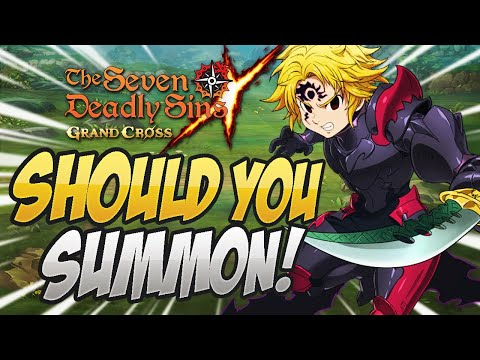 IS HE WORTH IT?! Should You Summon Blue Demon Meliodas! Seven Deadly Sins Grand Cross