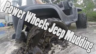High Volts PW - Power Wheels Jeep Mudding