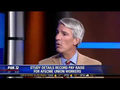 Fox Chicago:Illinois state workers highest paid in nation