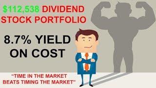 My 6 Figure Dividend Stock Portfolio - For Passive Income