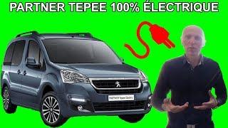 Les tutos de Berbi : Nouveau Peugeot Partner Tepee Ludospace 100% électrique !