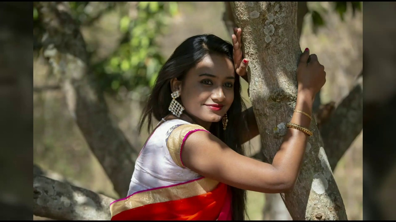 Download Saree Photoshoot   Manasa   Red Saree