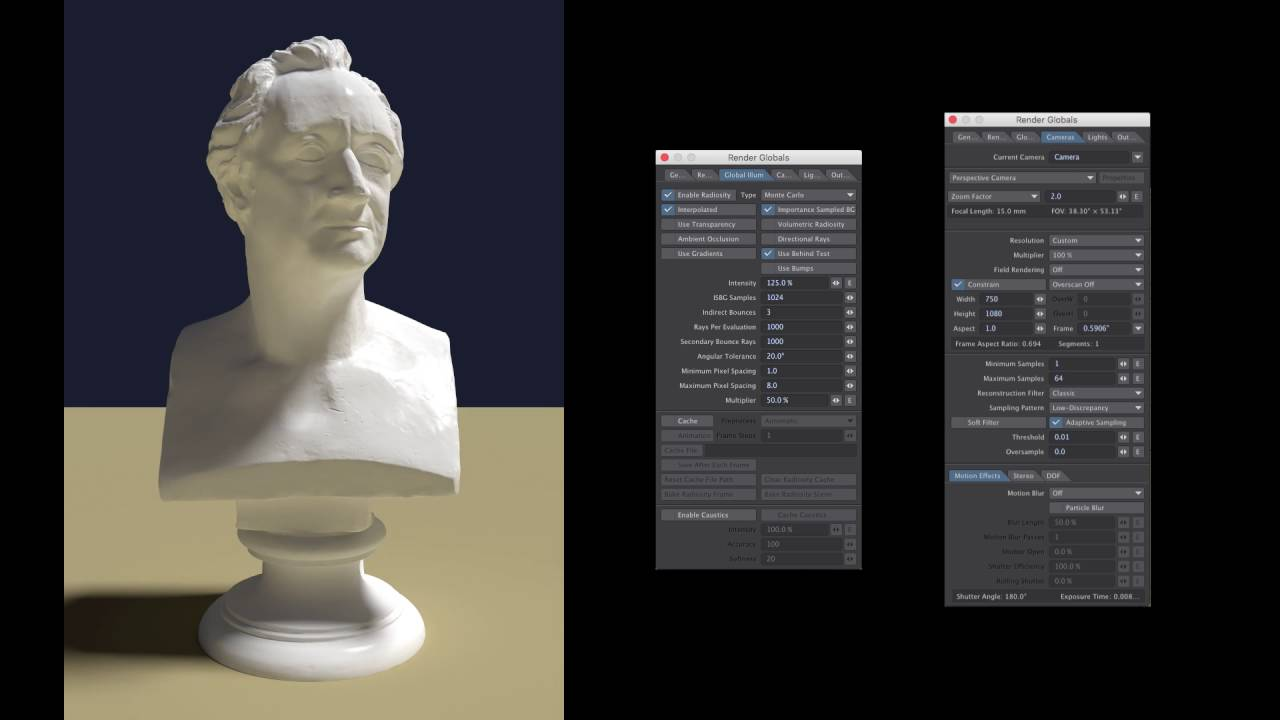 Reducing flicker from Animated Interpolated Radiosity with Lightwave3D