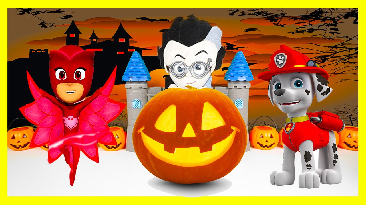 Paw Patrol Halloween with Heroes, Marshall Trick-or-Treat ...