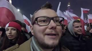 Tak NAPRAWDĘ wyglądał Marsz Niepodległości 2018 w Warszawie! Ludzie, race, duma i refleksja.