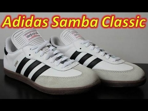 Adidas Samba Classic Indoor - Unboxing + On Feet - YouTube 56edbdff3