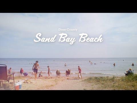 Sand Bay Beach - Beaches Of Door County, Wisconsin